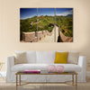 View of Great Wall of China near Jinshanling on a sunny day multi panel canvas wall art