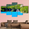 Plitvice Lakes National Park in Croatia multi panel canvas wall art