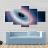Black hole in universe Multi Panel Canvas Wall Art