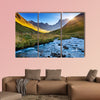 Beautiful view of Mountain River in summer Juta village wall art
