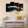 Space ship Multi Panel Canvas Wall Art