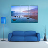 Upper Lake in Glendalough Scenic Park, Republic of Ireland, Europe multi panel canvas wall art