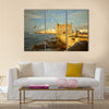 Essaouira Fortress Morocco Multi Panel Canvas Wall Art