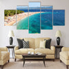 Gorgeous picturesque view on Golden Cape Multi panel canvas wall art