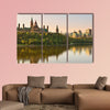 Ottawa city skyline at sunrise in the morning in Canada canvas wall art