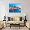 Rovinj city in Croatia Multi panel canvas wall art