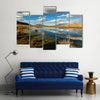 The Wispering High Mountains In Bolivia, Touching The Clouds, Multi Panel Canvas Wall Art