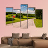 Farm along country road in Southern York County, PA multi panel canvas wall art