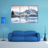 Beautiful view of Salzburg skyline with Festung Hohensalzburg multi panel canvas wall art