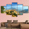 India Jaipur Amber fort in Rajasthan Ancient Indian palace multi panel canvas wall art