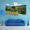 Rice Terrace at Maechaem in Thailand multi panel canvas wall art
