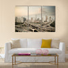elevated road junction panorama in shanghai at dusk,China multi panel canvas wall art