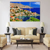 Pictorial Greece - Symi island, Dodecanese Multi Panel Canvas Wall Art