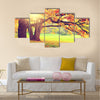 Autumn landscape Multi panel canvas wall art