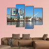Puerto Madero in Buenos Aires multi panel canvas wall art