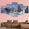 A winter wonderland multi panel canvas wall art