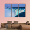 Dusk at Niagara Falls Multi panel canvas wall art