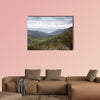 Views of Iruelas Valley, with the El Bruguillo reservoir at the background, Multi Panel Canvas Wall Art