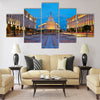 City centre of Sofia, capital of Bulgaria Multi panel canvas wall art