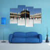 Mecca, A Famous Mosque In Saudi Arabia Multi Panel Canvas Wall Art