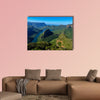 Blyde River Canyon, South Africa the Blyde River Canyon is the third largest canyon worldwide Multi panel canvas wall art