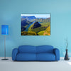 Blyde River Canyon in Mpumalanga, South Africa The Blyde River Canyon Multi panel canvas wall art