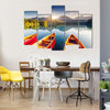National Park High Tatra Indicating Mountain Lake, Slovakia, Multi Panel Canvas Wall Art
