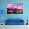 Purple Pikes Peak Mountain Garden Gods in Colorado Springs, Colorado multi panel canvas wall art