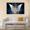 Beautiful Wing Design Multi Panel Canvas Wall Art