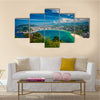 The San Sebastian Representing The Busy Life, Spain, Multi Panel Canvas Wall Art