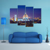 A Nice view of Florence during evening hours Multi Panel canvas wall art