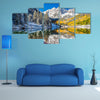 The Beauty Of The Winter And Fall Foliage At Maroon Bells, Aspen Multi Panel Canvas Wall Art