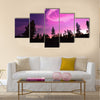 Northern Lights , Aurora Borealis Multi panel canvas wall art