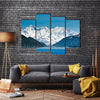 The Wilderness And Inside Passage Of The Majestic Mountains, Multi Panel Canvas Wall Art