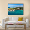 Aerial view of Macao beach, Bavaro, Dominican Republic Multi Panel Canvas Wall Art