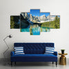 Banff National Park, Moraine Lake, Canada, Multi Panel Canvas Wall Art