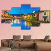 Canals of Otaru, Japan multi panel canvas wall art
