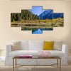 Jiuzhaigou Valley Scenic and Historic Interest Area, Sichuan, China multi panel canvas wall art