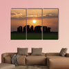 Stonehenge, a prehistoric monument in England UNESCO wall art