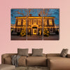 Gothenburg, Sweden, building and trees at multi panel canvas wall art
