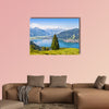 Beautiful landscape with Alps and Zeller See in Zell am See, wall art