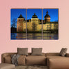 View of the Gripsholm Castle from the Lake Malaren multi panel canvas wall art