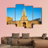 The historic clock tower gate in Cartagena, Colombia multi panel canvas wall art
