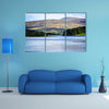 Scenic view of Blessington Lake in Ireland multi panel canvas wall art