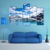 Glacier Bay in Mountains in Alaska, United States multi panel canvas wall art