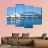 Sydney Opera House Sydney Harbour Bridge Road Bridge canvas wall art