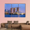 Singapore Skyline multi panel canvas wall art