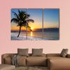 Beautiful sunrise at Key West, Florida, USA multi panel canvas wall art