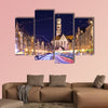 Augsburg, Germany cityscape multi panel canvas wall art