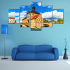 Scene Of Summer In An Old Architecture Multi Panel Canvas Wall Art